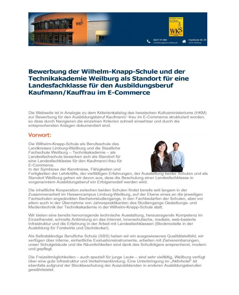 Der neue Ausbildungsberuf: Kaufmann/Kauffrau im E-Commerce - Wilhelm ...