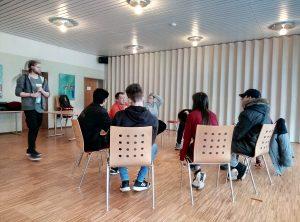"""Bewerbungstraining für WKS-Schüler bei """"JobAktiv"""""""